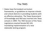 the taks