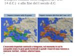 l impero romano sotto augusto 27 a c 14 d c e alla fine del i secolo d c