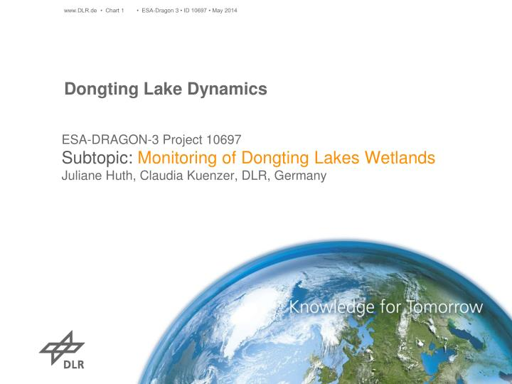 dongting lake dynamics n.