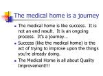 the medical home is a journey