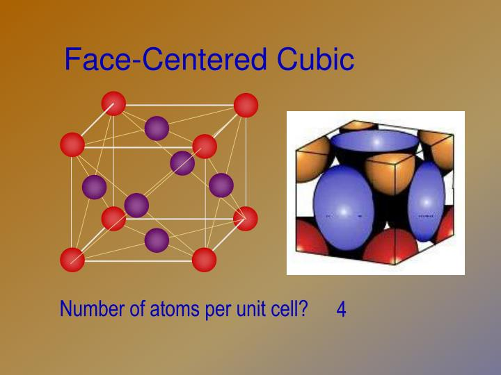 Face-Centered Cubic