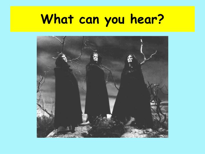 what can you hear n.