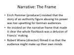 narrative the frame