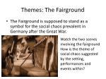 themes the fairground