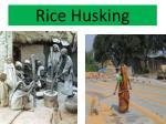 rice husking
