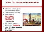 anno 1792 le guerre la convenzione