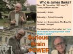 who is james burke