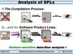 analysis of spls