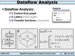 data f low analysis