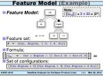 feature model example