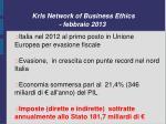 krls network of business ethics febbraio 2013