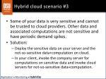 hybrid cloud scenario 3