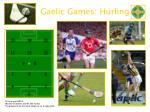 gaelic games hurling
