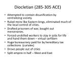 diocletian 285 305 ace