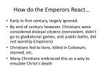 how do the emperors react