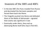 invasions of the 300 s and 400 s