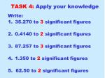 task 4 apply your knowledge