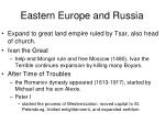 eastern europe and russia1