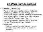 eastern europe russia