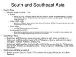 south and southeast asia2
