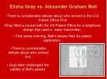 elisha gray vs alexander graham bell