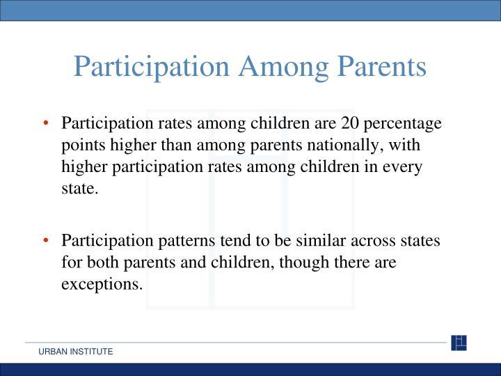 Participation Among Parents