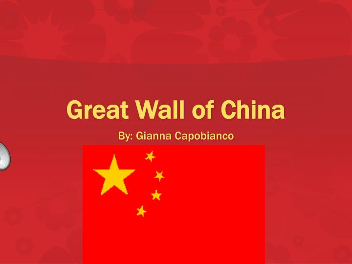 g reat wall of china n.