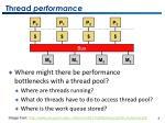 thread performance