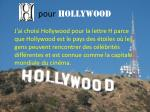 pour hollywood