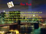 pour new york