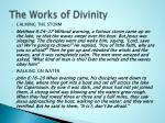 the works of divinity
