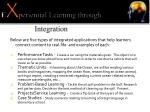 e x periential learning through integration
