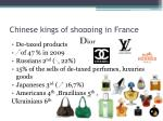 chinese kings of shopping in france