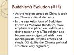 buddhism s evolution 14