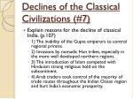 declines of the classical civilizations 7