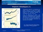 impacts climatiques 1