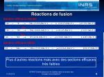 r actions de fusion