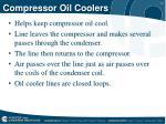 compressor oil coolers