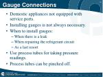 gauge connections