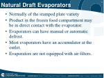 natural draft evaporators
