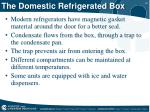 the domestic refrigerated box
