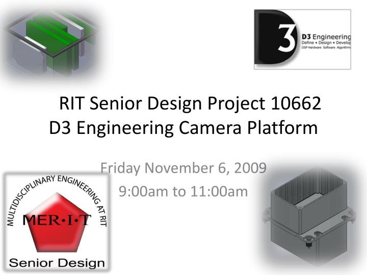 rit senior design project 10662 d3 engineering camera platform n.
