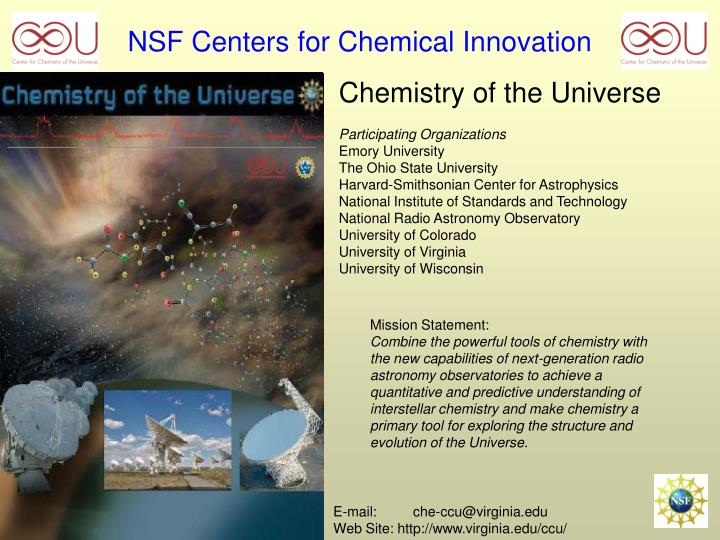 nsf centers for chemical innovation n.