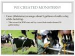we created monsters5