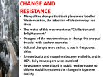 change and resistance