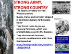 strong army strong country2
