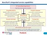 xenotech s integrated service capabilities