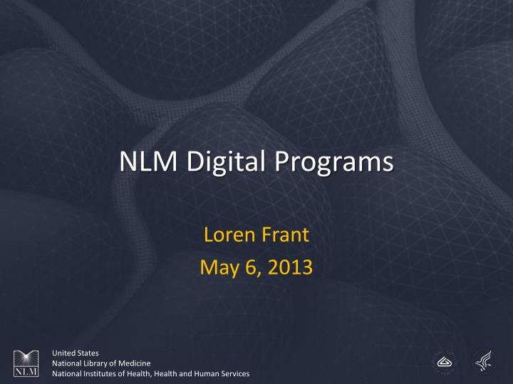 nlm digital programs n.