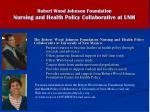 robert wood johnson foundation nursing and health policy collaborative at unm
