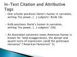 in text citation and attributive tags1